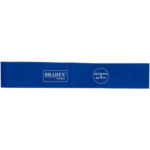 Фото - Эспандер лента BRADEX SF 0343 30 х 5 см синий эспандер универсальный bradex профи болл 140 х 14 см синий