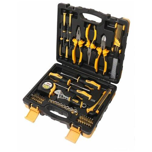 Фото - Набор инструментов WMC Tools WMC-2082, 82 предм., черный/желтый набор инструментов deko tz82 82 предм черный желтый