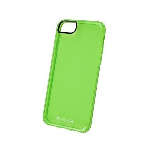 Панель-накладка Cellular Line Clear Color Green для Apple iPhone 7/8