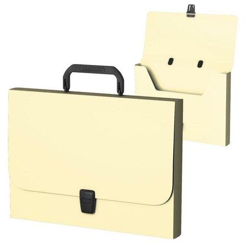 Купить Папка-портфель А4 1отд ErichKrause Matt Pastel, FC, желтая 53303 5866235, Файлы и папки