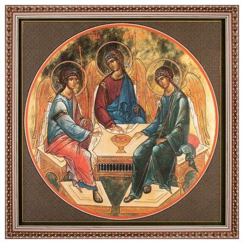 Икона Святая Троица, 28х28 см