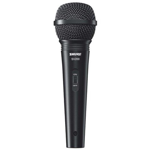 Микрофон Shure SV200-A, черный