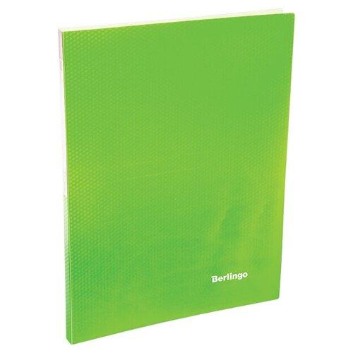 Фото - Berlingo Папка с 20 вкладышами Neon A4, 14 мм, 700 мкм, пластик зеленый berlingo папка с 20 вкладышами neon a4 14 мм 700 мкм пластик зеленый