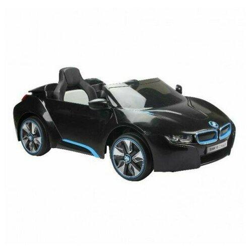 детский электромобиль jiajia bmw x6m black 12v jj2168 Радиоуправляемый детский электромобиль BMW i8 Concept 12V цвет черный