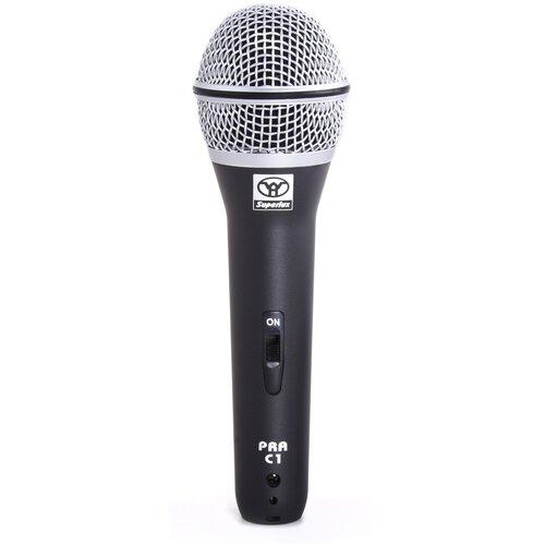 Микрофон Superlux PRAC1, черный/серебристый