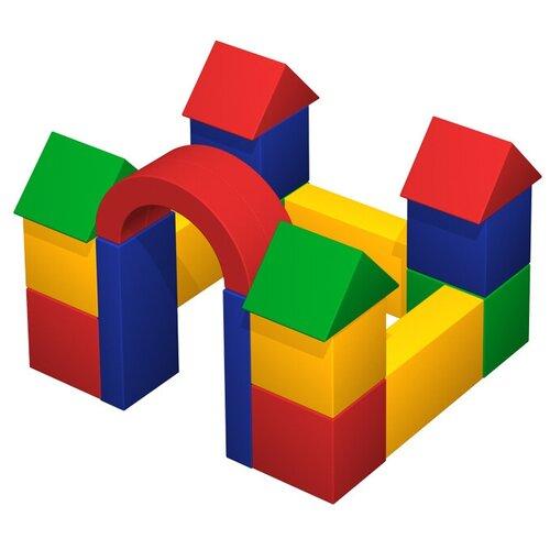 Фото - Мягкий игровой комплекс ROMANA Замок ДМФ-МК-19.07.01, желтый/красный/зеленый/синий палатка jian hong замок принца 200280835 синий желтый