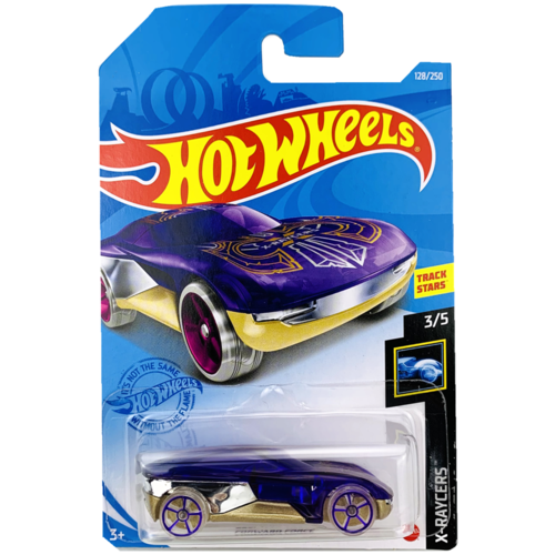 Hot Wheels Базовая машинка Forward Force, фиолетовая mattel базовая машинка hot wheels tesla model 3