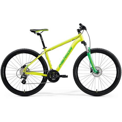 Горный (MTB) велосипед Merida Big.Seven 15 (2021) silk lime/green L (требует финальной сборки) горный mtb велосипед kellys desire 90 2019 grey green m требует финальной сборки
