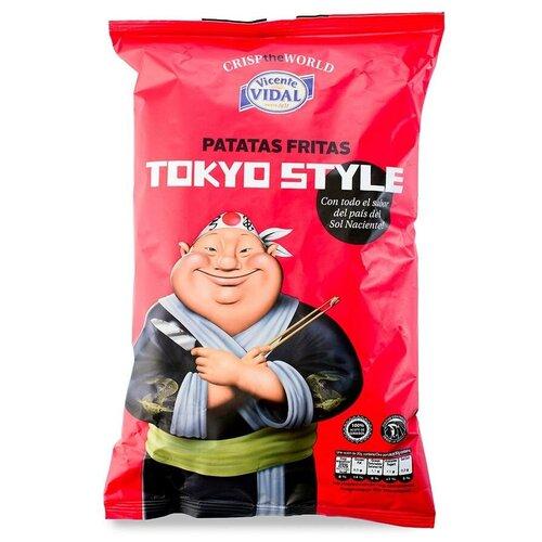 Фото - Чипсы Vicente VIDAL картофельные Tokyo Style Терияки, 120 г vicente gallego barrado contra toda creencia