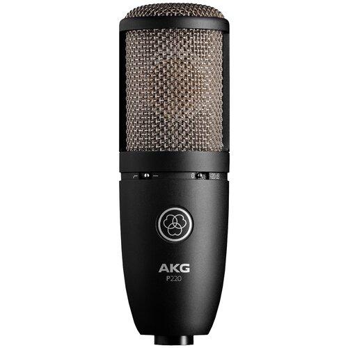 Микрофон AKG P220, черный