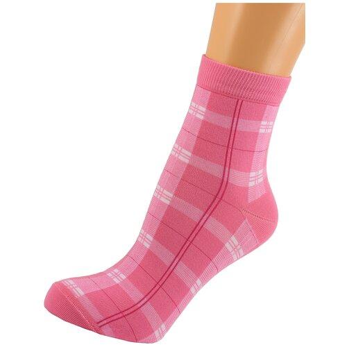 Носки женские LorenzLine Д43, Розовый, 23 (размер обуви 36-37)