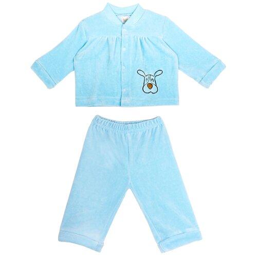 Фото - Комплект одежды KotMarKot размер 68, голубой свитшот kotmarkot размер 68 белый