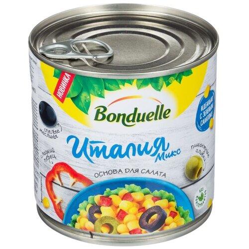 Овощная смесь с кукурузой Италия Микс Bonduelle, 310 г, 425 мл