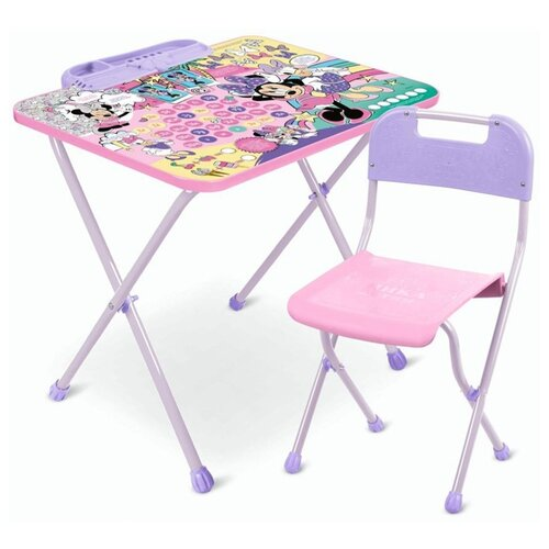 Набор детской мебели Nika Минни Маус Д1МН