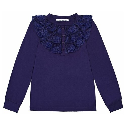 Купить Блузка Ciao Kids Collection размер 10 лет, синий, Рубашки и блузы