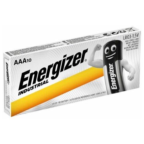 Фото - Батарейка Energizer Industrial ААА, 10 шт. батарейка energizer max plus aa 4 шт