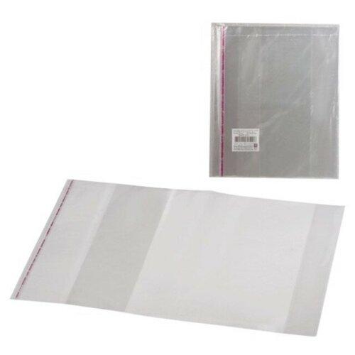 Топ-спин Набор обложек для учебника 300х500 мм, 5 штук прозрачный