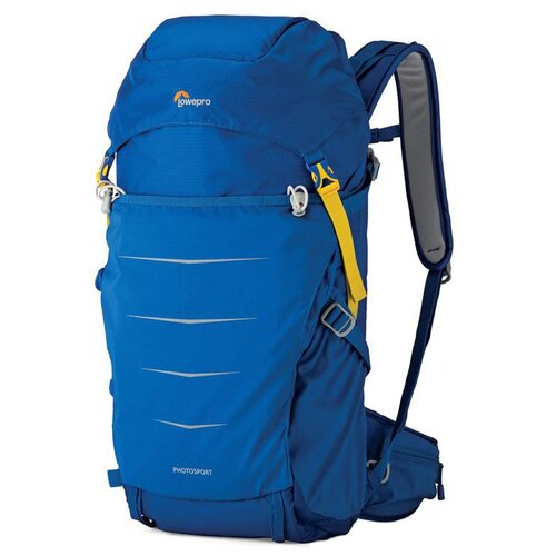 Фото - Рюкзак для фотокамеры Lowepro Photo Sport BP 300 AW II синий рюкзак для фотокамеры lowepro flipside 400 aw ii mica pixel camo