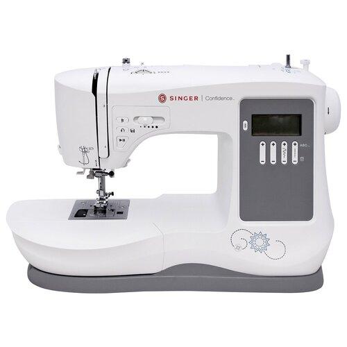 Швейная машина Singer Confidence 7640 Q, белый/серый