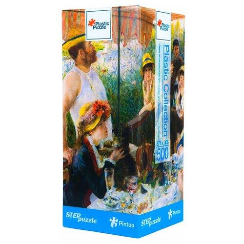 Пазл Step puzzle Plastic Collection Пьер Огюст Ренуар Завтрак гребцов (98013), 500 дет. пазл step puzzle plastic collection дракон и фея 98019 500 дет