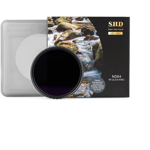 Фото - Benro SHD ND64 IR ULCA WMC ? 49 мм светофильтр нейтрально-серый светофильтр benro shd nd8 ir ulca wmc 77 mm