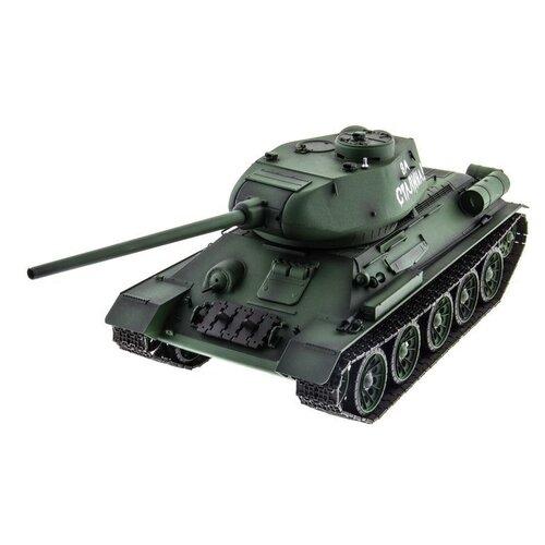 Фото - Радиоуправляемый танк Heng Long T-34/85 Original V6.0 2.4G 1/16 RTR радиоуправляемый танк heng long радиоуправляемый мини танковый бой cs toys 9819