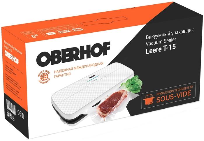 Вакуумный упаковщик oberhof вакуумный упаковщик для продуктов купить в тюмени