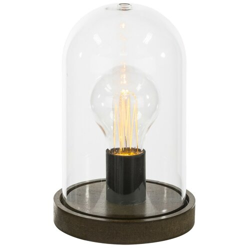 люстра светодиодная globo ina 18 вт 35 см цвет хром Настольная лампа светодиодная Globo Lighting FANAL I 28187, 0.06 Вт