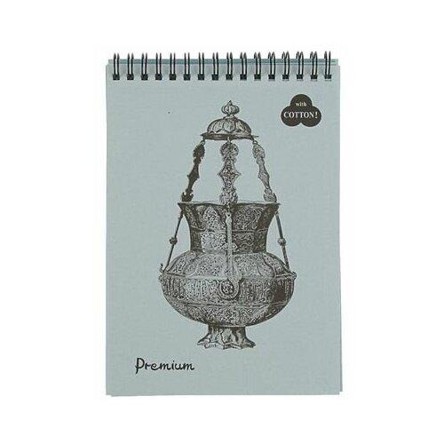 Фото - Скетчбук для пастели Лилия Холдинг Premium Bluemarine 21 х 14.8 см (A5), 160 г/м², 30 л. блокнот для пастели лилия холдинг blackberry 21 х 14 8 см a5 160 г м² 30 л