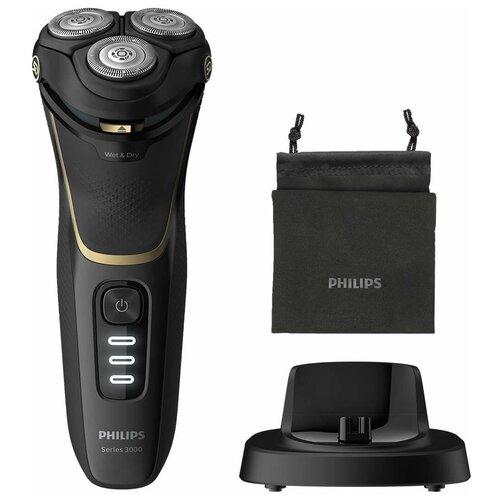 Электробритва Philips S3333 Shaver 3300,black электробритва philips series 3000 s3333 54 black
