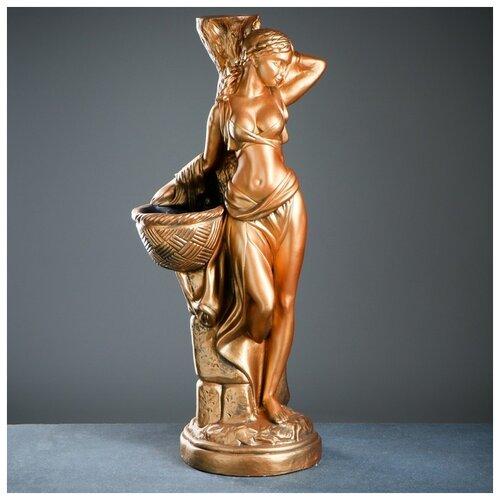 Фигура с кашпо Гречанка большая золото 88см 4622862 фигура с кашпо гречанка большая бронза 88см 4253601