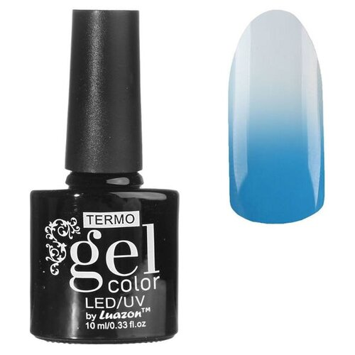 Фото - Гель-лак для ногтей Luazon Gel color Termo, 10 мл, А2-035 серо-лавандовый гель лак для ногтей luazon gel color termo 10 мл а2 076 пурпурный перламутровый