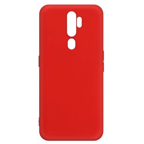 Krutoff / Чехол-накладка Krutoff Silicone Case для OPPO A5 2020/ A9 2020 красный