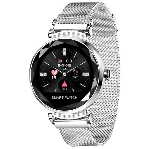 Умные часы LEMFO H2, white silver