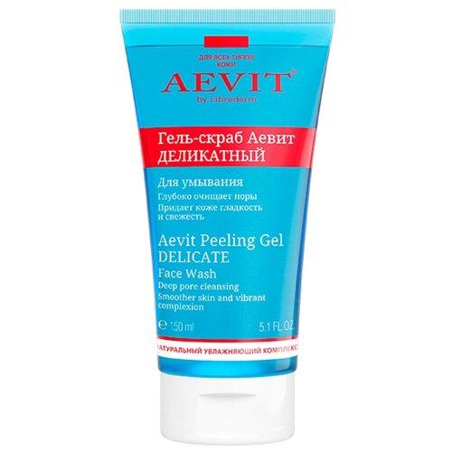 Купить Librederm гель-скраб для лица Aevit деликатный для умывания 150 мл
