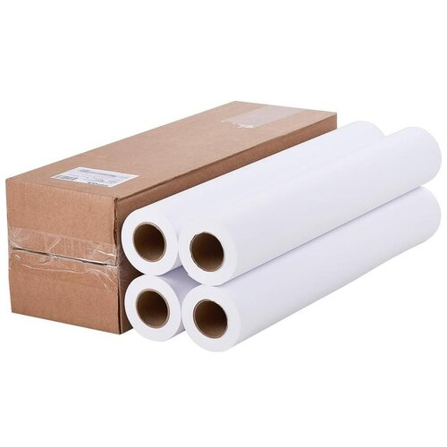 Фото - Бумага ProMEGA Engineer 610 мм. x 45 м. 80 г/м², 4 пачк., белый бумага promega engineer 914 мм x 45 м 80 г м² 4 пачк белый
