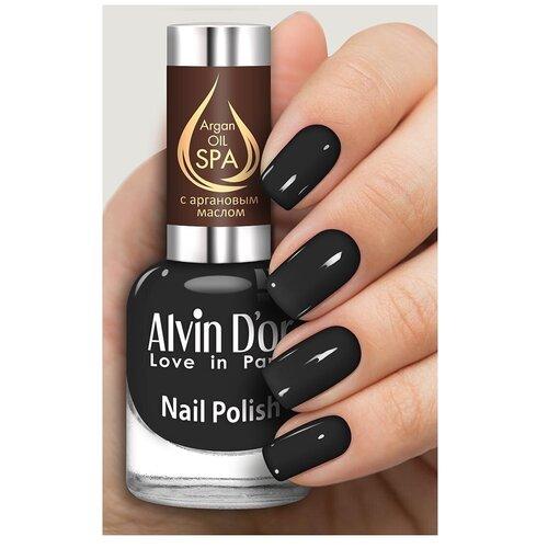 Купить Лак Alvin D'or SPA Argan Oil, 15 мл, 5037
