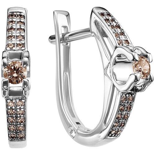 Vesna jewelry Серьги 2489-256-09-00 vesna jewelry серьги 2608 256 09 00
