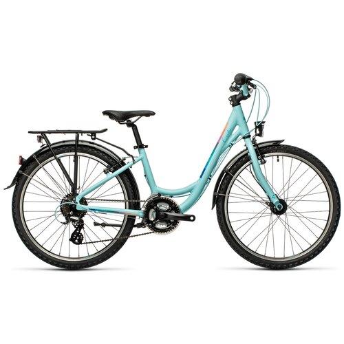 Фото - Подростковый дорожный велосипед Cube Ella 240 (2021) lightblue (требует финальной сборки) велосипед cube elite c 68 race 29 2x 2016
