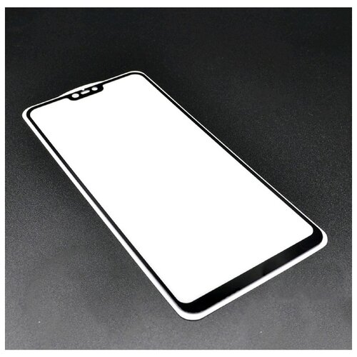 Защитное стекло Innovation 2D для Xiaomi Mi 8 Lite полный клей черная рамка 5046063