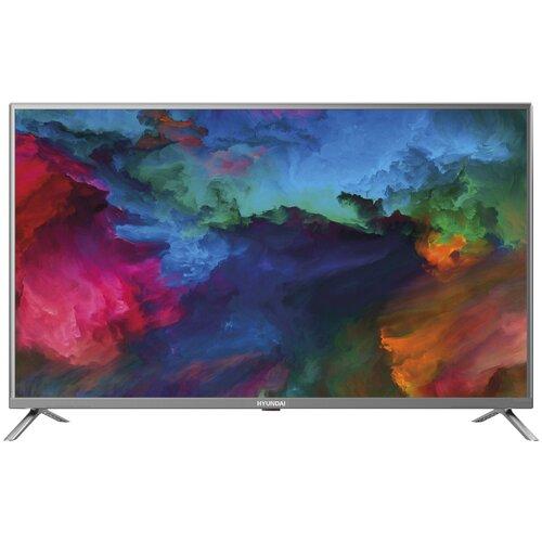Фото - Телевизор Hyundai H-LED50ES5001 50 (2019), серый металлик телевизор philips 50pus6654 50 2019 серебристый металлик