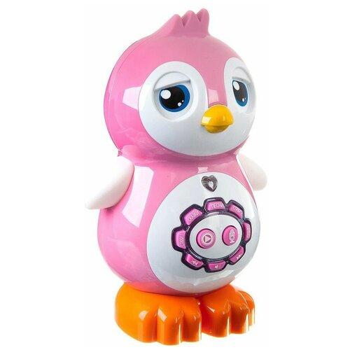 Интерактивная развивающая игрушка Play Smart Умный пингвинчик, розовый/белый