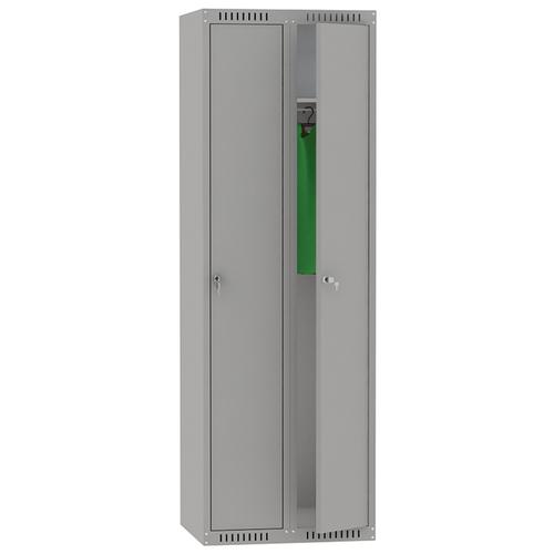 Металлический шкаф для одежды Надежда ШМС-281(600)