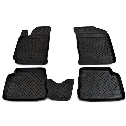 Фото - Комплект ковриков салона NorPlast NPL-Po-31-10 для Hyundai Getz 4 шт. черный комплект ковриков norplast np11 ldc 31 052 hyundai creta 5 шт черный