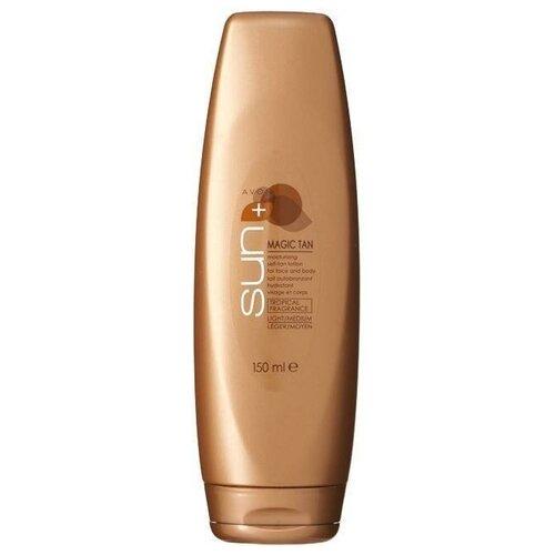Автозагар-лосьон увлажняющий для лица и тела с тропическим ароматом. AVON, 150 мл