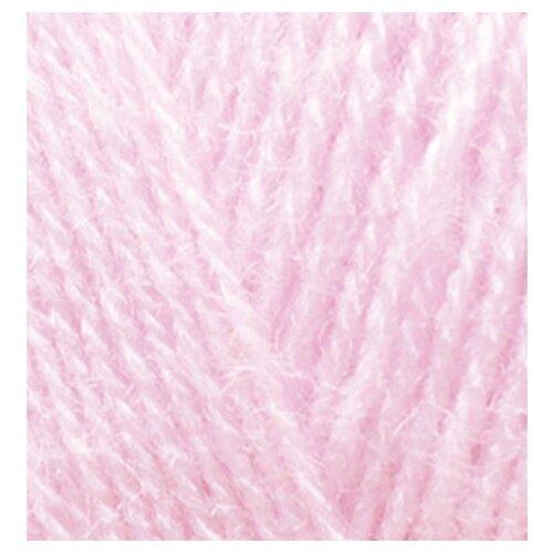 Купить Пряжа для вязания Ализе Superlana TIG (25% шерсть, 75% акрил) 5х100г/570 м цв.518 розовая пудра, Alize
