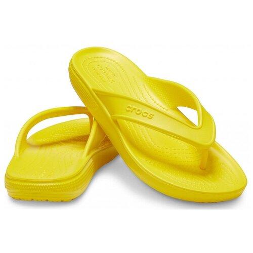Шлепанцы Crocs, размер 40(M7), lemon crocs citilane tropical slip on m