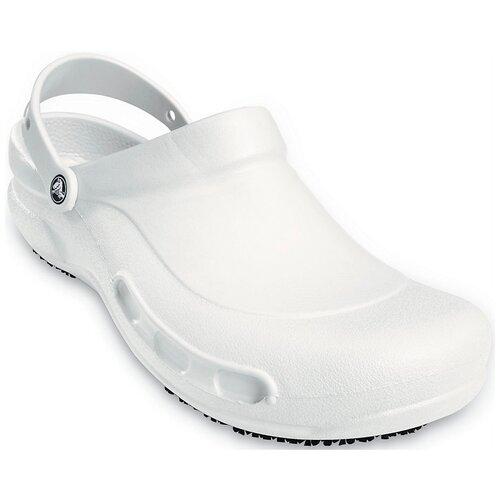 Сабо Crocs Bistro Clog, размер 37-38(M5/W7), white crocs bistro unisex for male for female man woman tmallfs