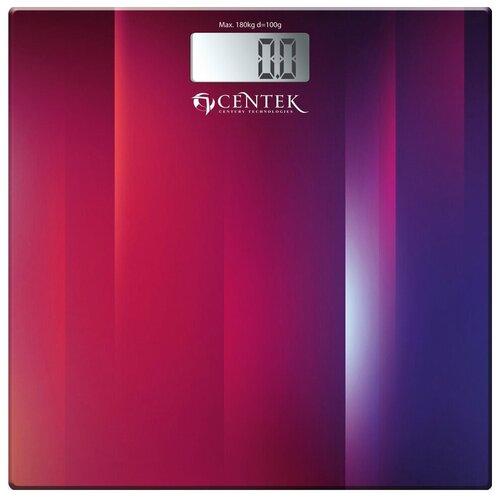 весы centek ct 2413 Весы электронные CENTEK CT-2420 Фиолетовый-Красный