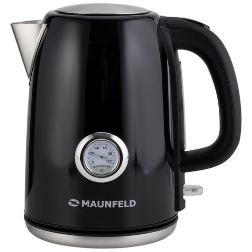 Фото - Чайник MAUNFELD MFK-624B, черный чайник электрический maunfeld mfk 624b